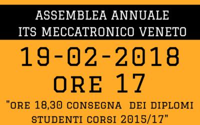 ASSEMBLEA ANNUALE ITSMECCATRONICO