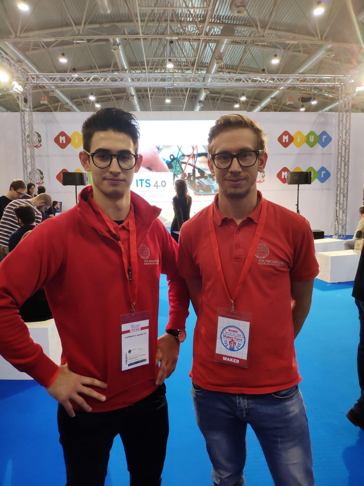 Matteo Vicentini e Gianmarco Andretta