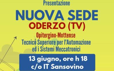 NELL'OPITERGINO-MOTTENSE (TV) NUOVA SEDE ITS MECCATRONICO VENETO