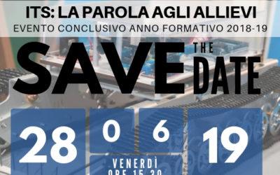 """ITS: LA PAROLA AGLI ALLIEVI"" 2018-19"