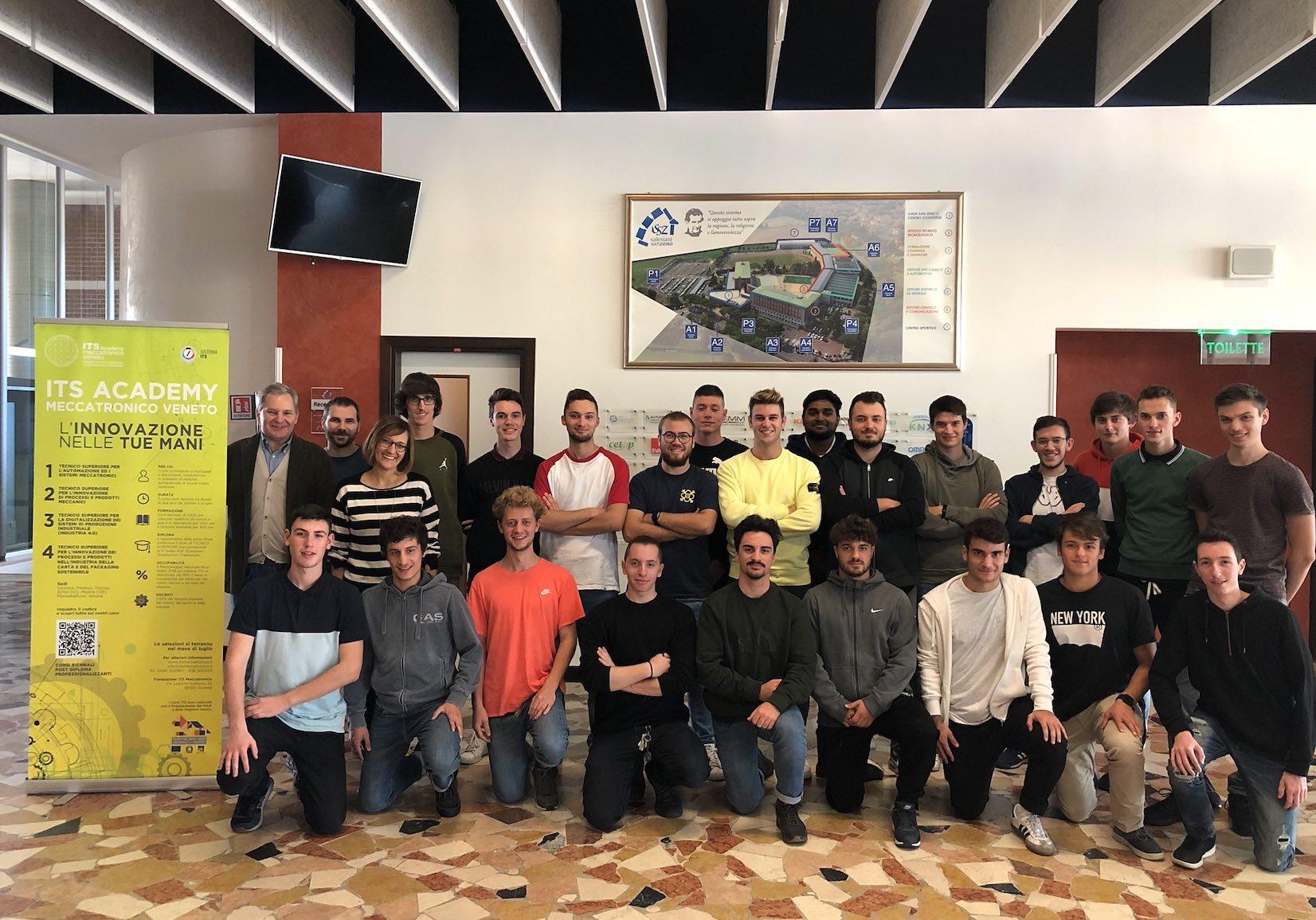 ITS Meccatronico Veneto_ 1 anno Automazione e sistemi Meccatronici VR VR