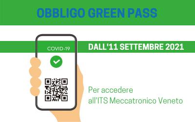 SISTEMA ITS: OBBLIGO GREEN PASS